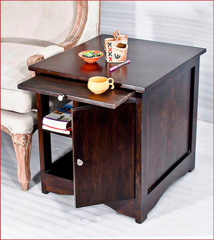 Crafts in Vogue - Gratifying Furnishing – Latika - Walnut Side Table
