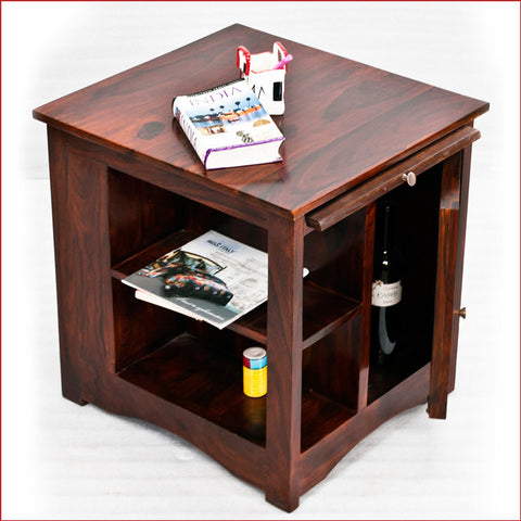 Crafts in Vogue - Gratifying Furnishing – Latika - Teak Side Table