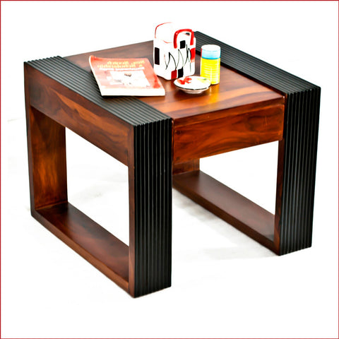 Crafts in Vogue - Essentially Stylish – Nova - Teak - Walnut Side Table