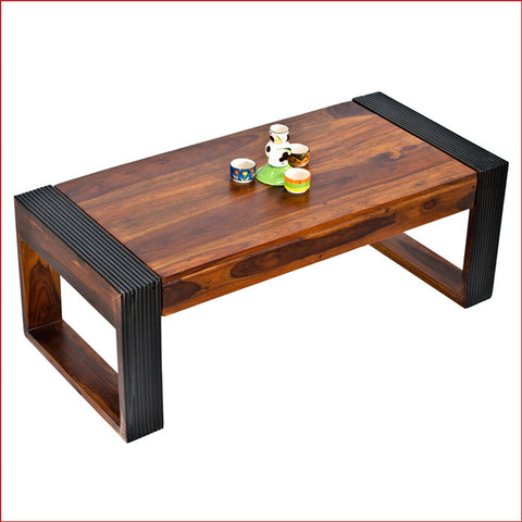 Crafts in Vogue - Exquisitely Outstanding – Nova - Teak Walnut- Coffee Table
