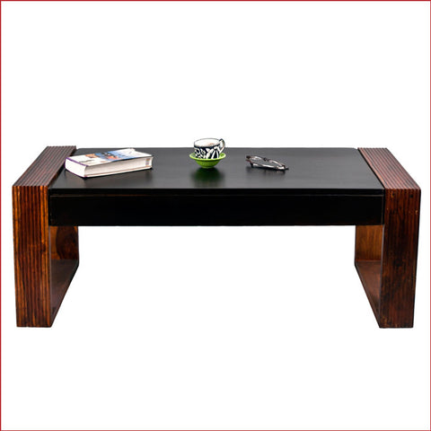 Crafts in Vogue - Exquisitely Outstanding – Nova - Walnut Teak - Coffee Table