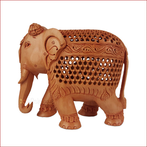Crafts in Vogue-Prima Donna - Carved Jalidar Elephant_Main
