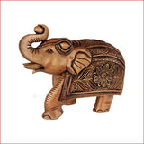 Dusky Tusker - Carved Elephant showpiece - Crafts in Vogue