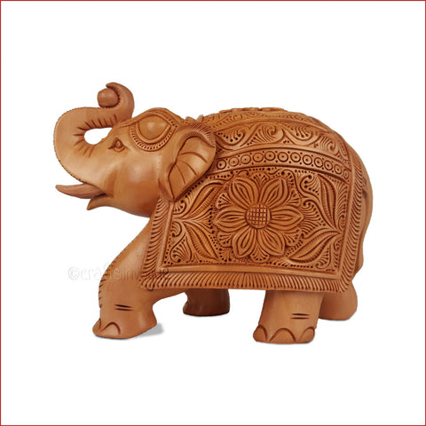 In The Lead - Carved Elephant Sculpture - main