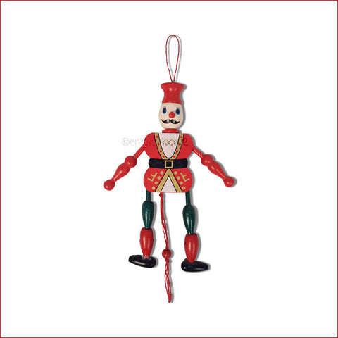 Crafts in Vogue - Nostalgia Revisited : Dancing Clown Red