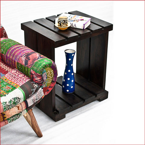 Crafts in Vogue - Dreamlike Accessories – Ultra - Walnut Side Table