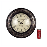 Rummaging Through History – Vintage Glass Wall Clock - Reference