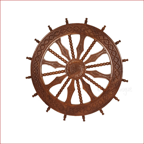 Crafts in vogue-Magnificent Ornamentation – konark wheel-main