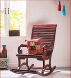 Wonderful Times   - Wooden Rocking Chair