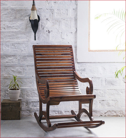 Crafts in Vogue - Wonderful Times   - Wooden Rocking Chair