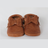 Solid baby moccasins by Olive & Bean