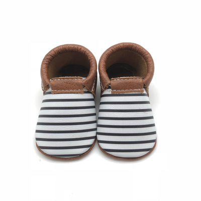 Olive & Bean Baby Moccasin