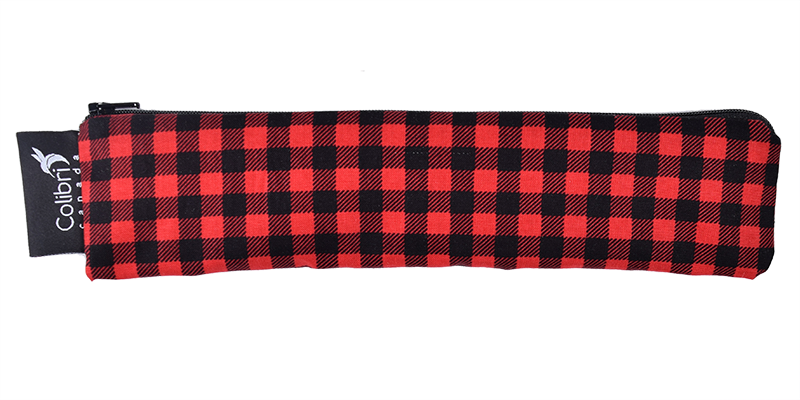 Plaid Reusable Snack Bag - Wide