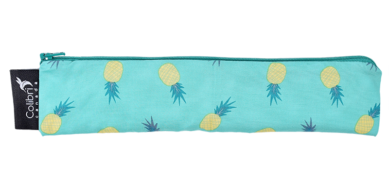 Pineapple - Reusable Snack Bag - Wide