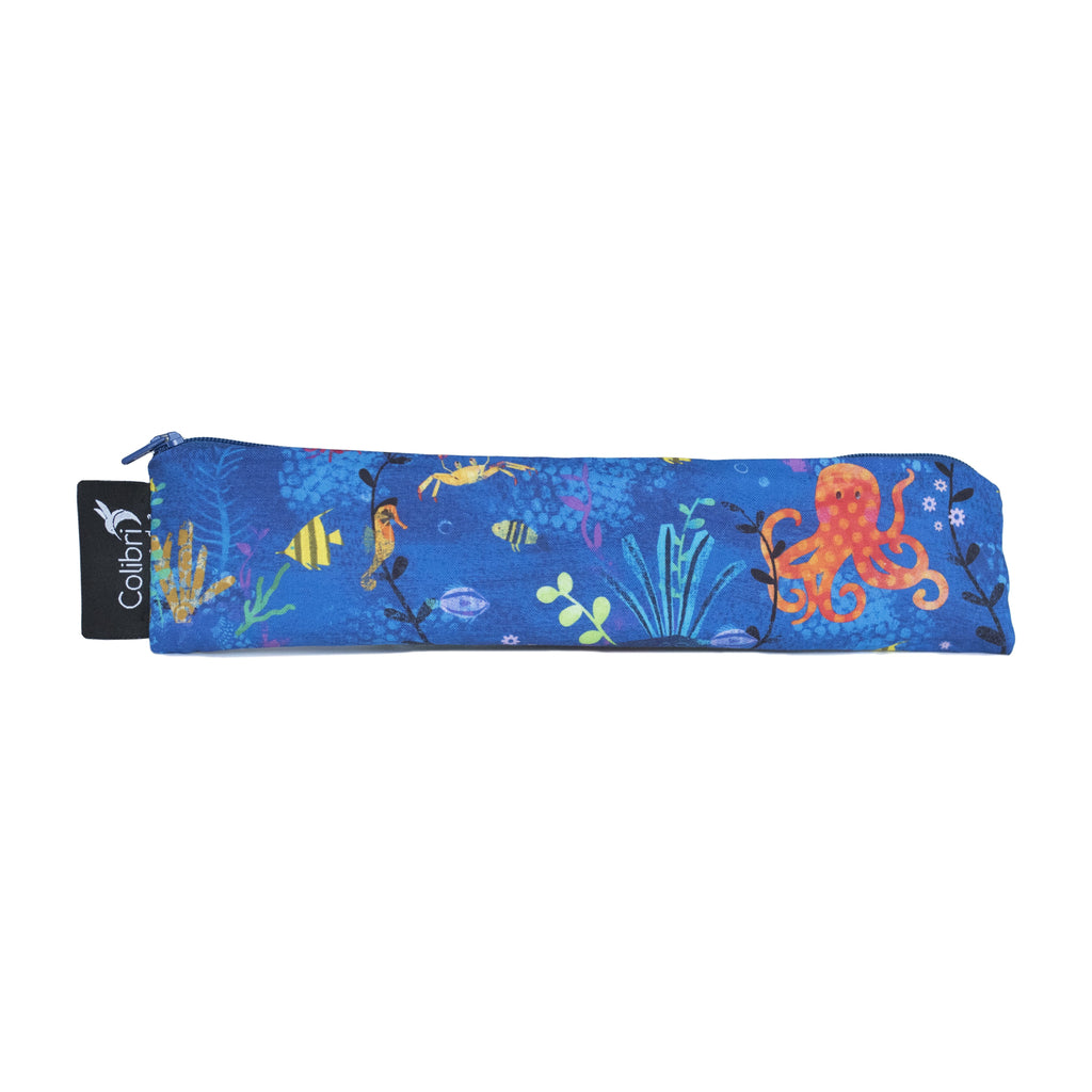 Under The Sea Reusable Snack Bag - Wide