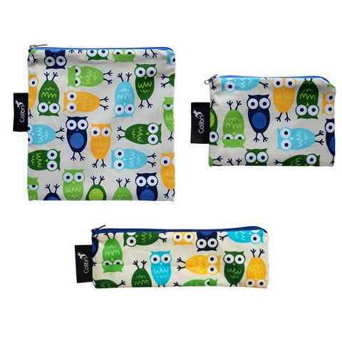 Owls Snack Bag Set