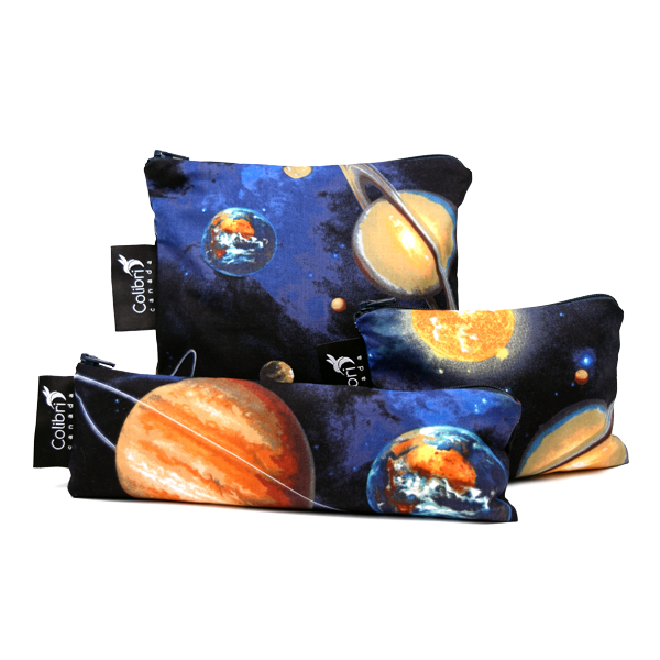 Space Reusable Snack Bag Set - Colibri Canada