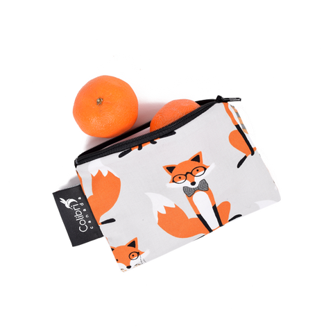 Foxes Reusable Snack Bag - Small