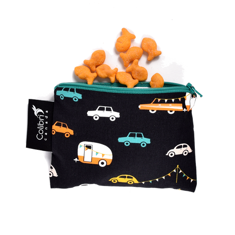 Road Trip Reusable Snack Bag - Small