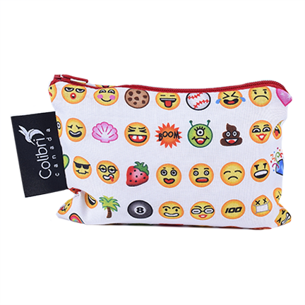 Emoji - Reusable Snack Bag - Small