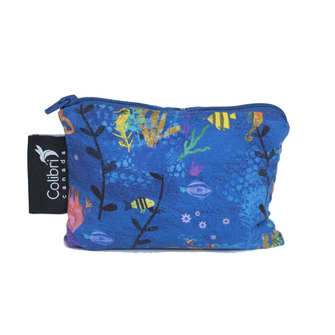 Under The Sea Reusable Snack Bag - Small