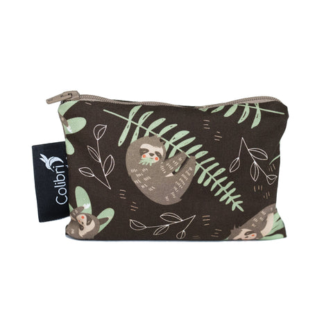 Sloths Reusable Snack Bag - Small