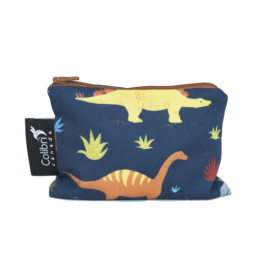 Dinosaurs Reusable Snack Bag - Small