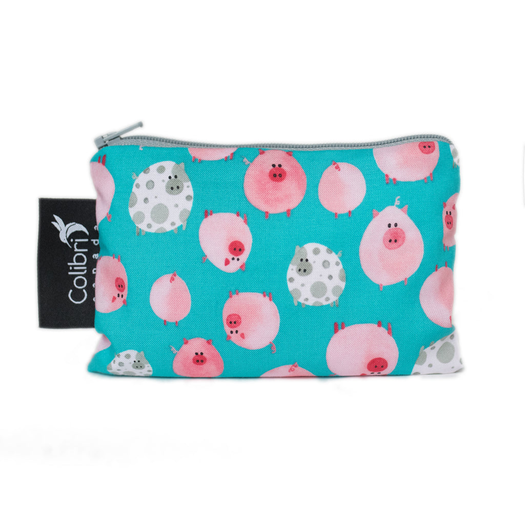 Oink Reusable Snack Bag - Small