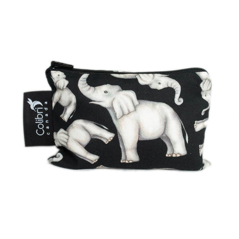 Elephant Reusable Snack Bag - Small