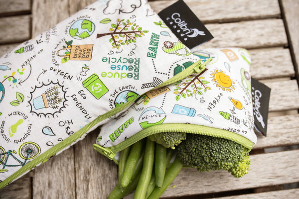 Recycle Reusable Snack Bag - Small