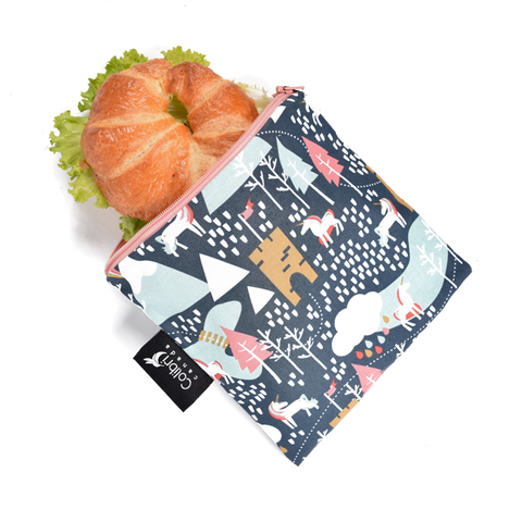 Fairy Tale Reusable Snack Bag - Large