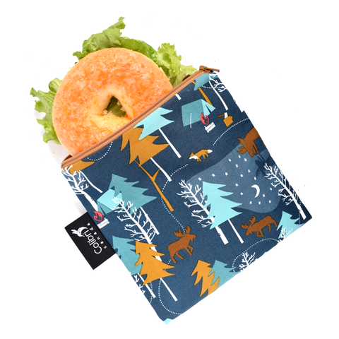Camp Out Reusable Snack Bag - Large
