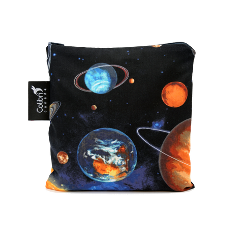 Space Reusable Snack Bag - Large - Colibri Canada