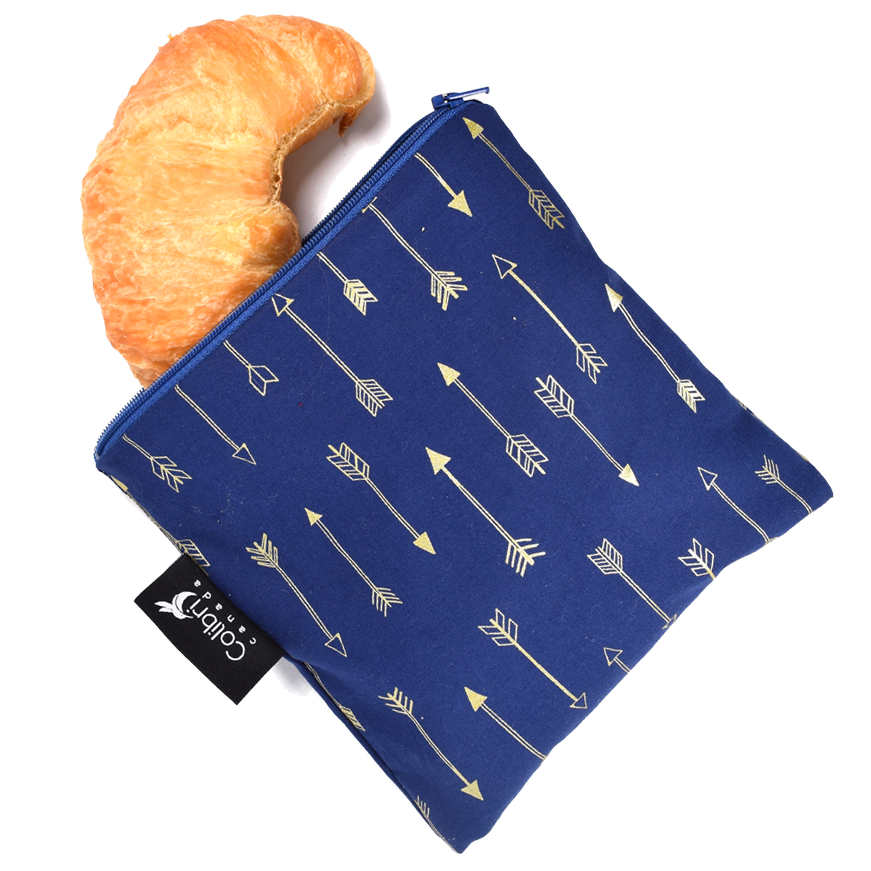 Arrows Reusable Snack Bag - Large