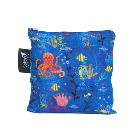 Under The Sea Reusable Snack Bag - Large