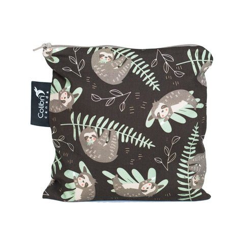 Sloths Reusable Snack Bag - Large