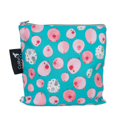 Oink Reusable Snack Bag - Large
