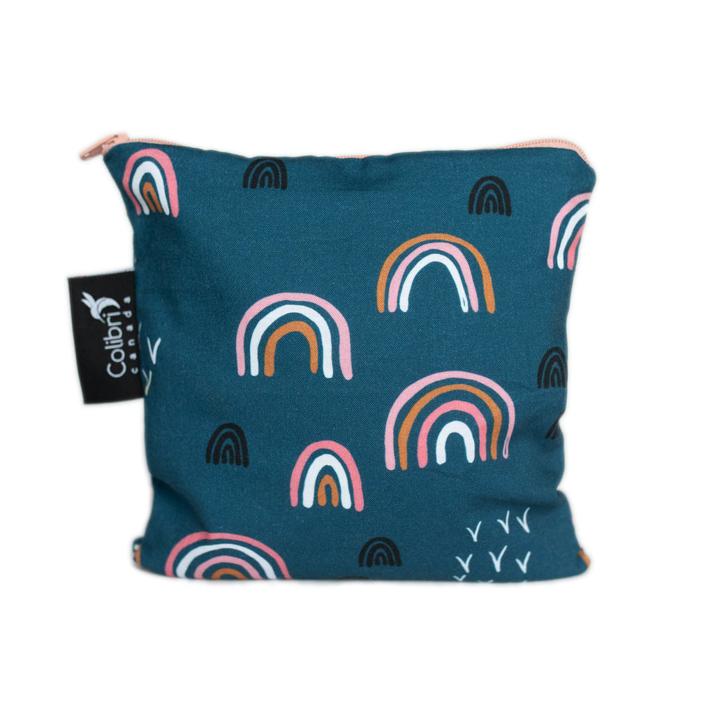 Rainbow Reusable Snack Bag - Large