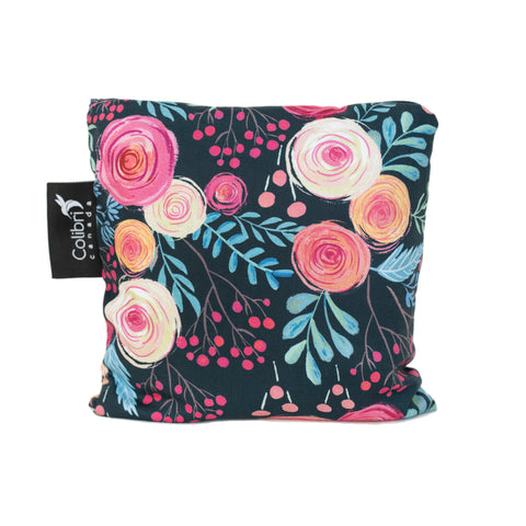 Roses Reusable Snack Bag - Large