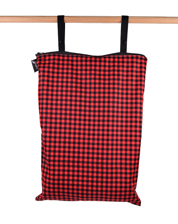 Plaid Extra Large Wet Bag - Colibri Canada