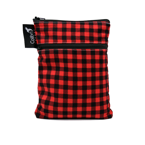 Plaid Mini Double Duty Wet Bag - Colibri Canada