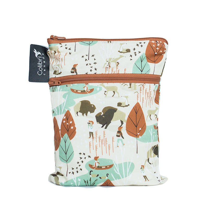 Nature Walk Mini Double Duty Wet Bag