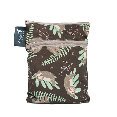Sloths Mini Double Duty Wet Bag