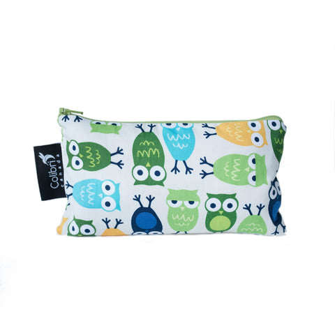 8008 - Owls Reusable Snack Bag - Medium