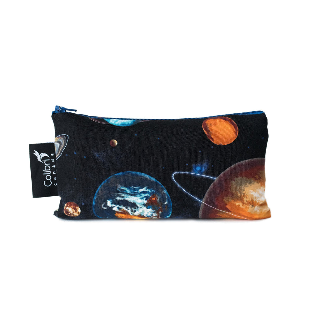 8078 - Space - Reusable Snack Bag - Medium