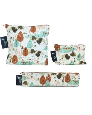 Nature Walk Snack Bag Set