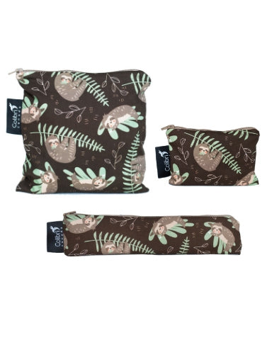 Sloths Snack Bag Set