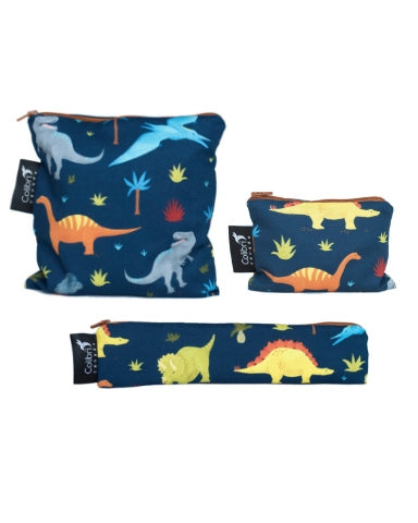 Dinosaurs Snack Bag Set
