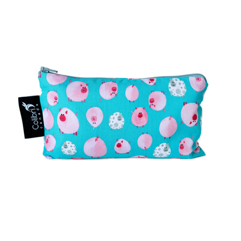 8106 - Oink Reusable Snack Bag - Medium
