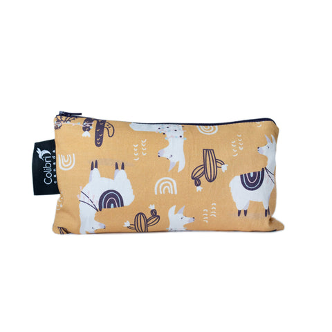 8110 - Llama Reusable Snack Bag - Medium